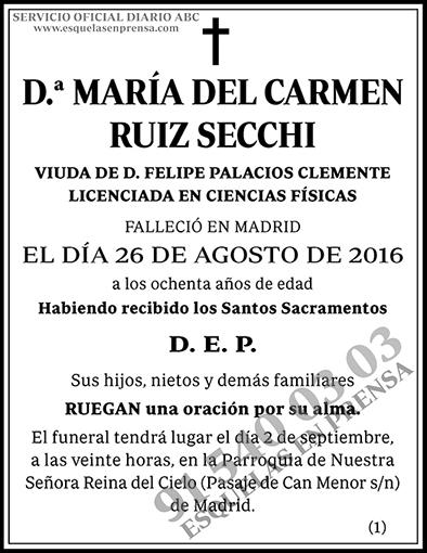 María del Carmen Ruiz Secchi